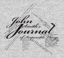 John Smith's Journal of impossible things Kids Tee