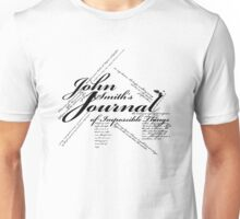 John Smith's Journal of impossible things Unisex T-Shirt