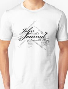 John Smith's Journal of impossible things T-Shirt