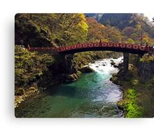 Nikko National Park - Japan  Canvas Print