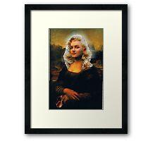 Mona Marilyn Framed Print