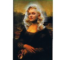Mona Marilyn Photographic Print