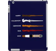Magic Wands iPad Case/Skin