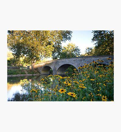 The Stone Bridge over Antietam Creek Photographic Print