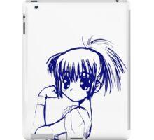 SHOUJO MANGA ANIME GIRL  iPad Case/Skin