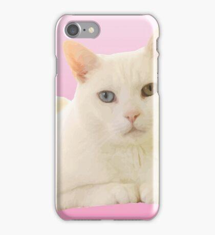 Vector Cat Print X iPhone Case/Skin