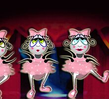 The Fleas Circus - LAS BALLERINAS by Kartoon