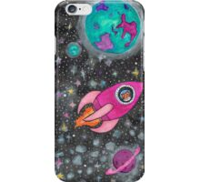 Castronaut Adventures in Space! iPhone Case/Skin