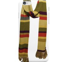 Doctor Who - Fourth Doctor Scarf iPhone Case/Skin