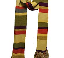 Doctor Who - Fourth Doctor Scarf by nessaaw
