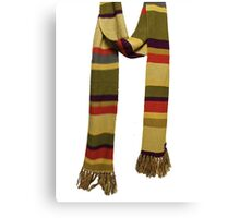 Doctor Who - Fourth Doctor Scarf Canvas Print