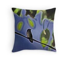 Bird On A Wire Throw Pillow