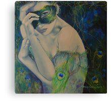Peacock Enigma Canvas Print