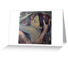 Romance with a Chimera Greeting Card