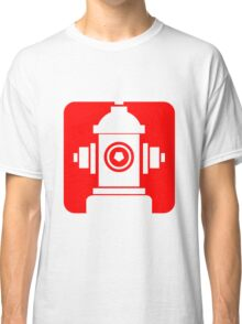 FIRE HIDRANT PICTOGRAM  Classic T-Shirt