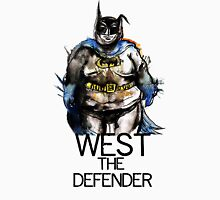 Adam West?...the defender Womens Fitted T-Shirt