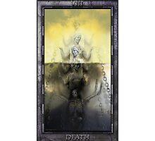 THE TAROT DEATH CARD Photographic Print