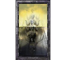 THE TAROT DEATH CARD Photographic Print