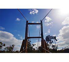 Pinjarra Footbridge Photographic Print