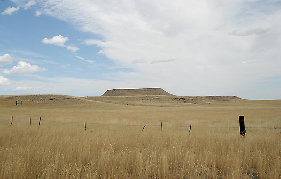 Battle Butte by May Lattanzio