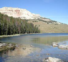 Chalk Butte, Yellowstone National Park, Montana by May Lattanzio