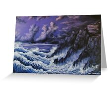 EVENING TEMPEST Greeting Card