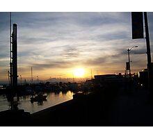 Peaceful Harbor Photographic Print