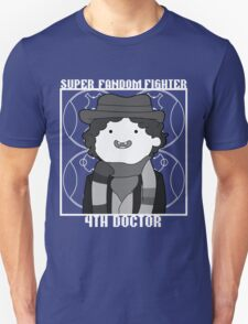 Super Fandom Fighter - 4th Doctor T-Shirt
