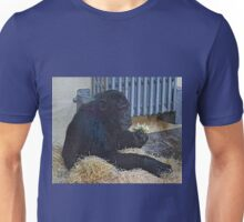 Oblivious to our stares .......... Unisex T-Shirt