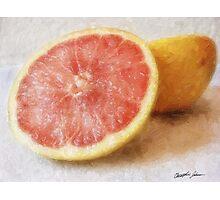 Grapefruit 1 Photographic Print
