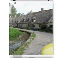 very old national trust houses in bibury iPad Case/Skin