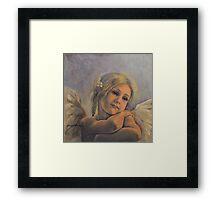 Dreamy Angel Framed Print