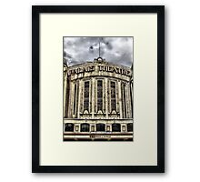The Facade of Heritage Framed Print