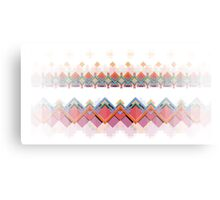 Retro Pixel Pattern Canvas Print