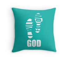 I Will Follow God Throw Pillow
