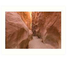 Spooky Slot Canyon, Utah Art Print