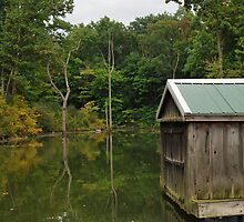 Old Fishing Shanty by mnkreations