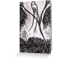 A Wraith in autumn Greeting Card