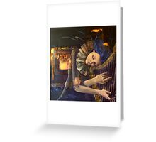 """Nocturne"" from ""Feuilleton"" series Greeting Card"