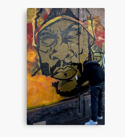 Fresh on the  walls  Canvas Print
