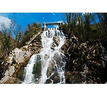 Cascate di Crosis Photographic Print
