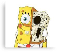 Spongebob Canvas Print