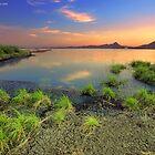 Al-Miks Lake  by Saleh Rubat