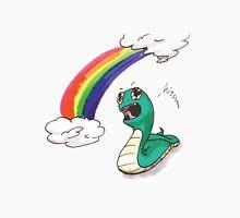 Cute snake with RAINBOW! Unisex T-Shirt