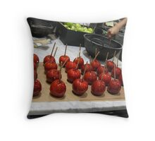 Toffee Apples Throw Pillow