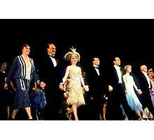 Broadway Curtain Call Photographic Print