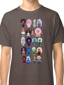 Steven Universe Cast in Chibi Style Classic T-Shirt