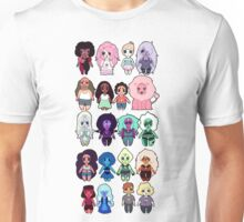 Steven Universe Cast in Chibi Style Unisex T-Shirt
