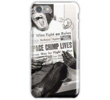 Space Chimp iPhone Case/Skin