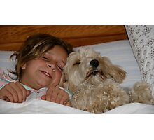 Two little puppies? Photographic Print